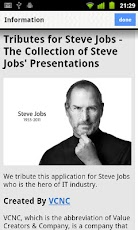 Keynotes of Steve Jobs