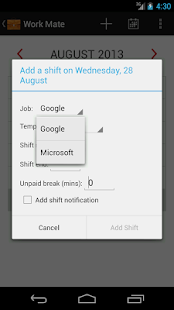 Work Mate - screenshot thumbnail