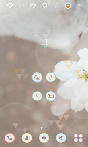 Refreshing spring Launcher The