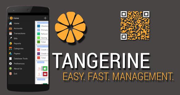 Tangerine Bill Expense Manager