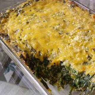 Baked Spinach Casserole Recipes.