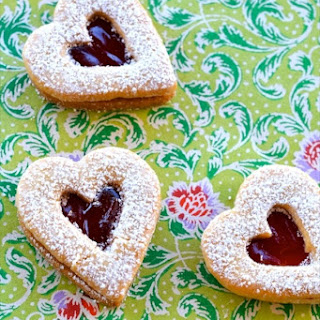 Linzer Cookies Without Nuts Recipes.