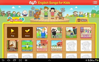 Screenshot of English Songs for Kids
