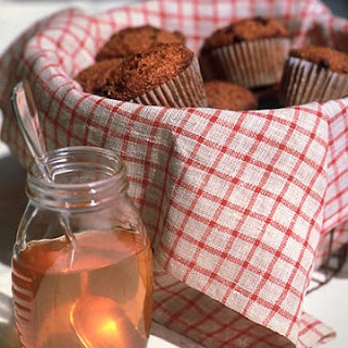 Bran and Currant Muffins.