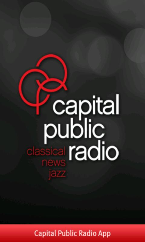 Capital Public Radio App - screenshot