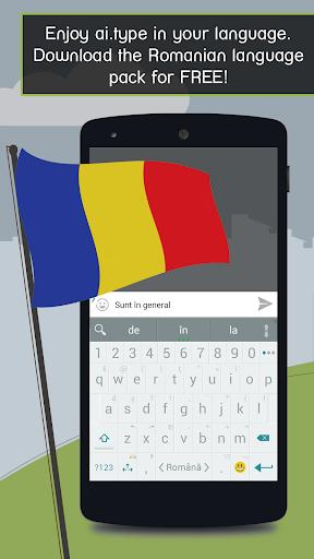 ai.type Romanian Predictionary