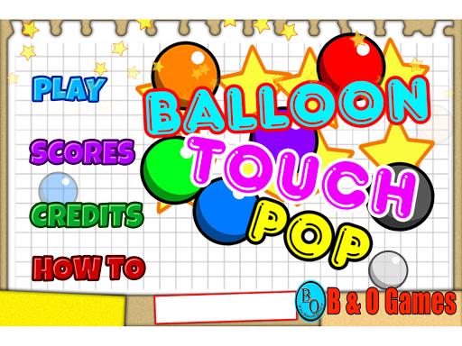 Balloon Touch-Pop