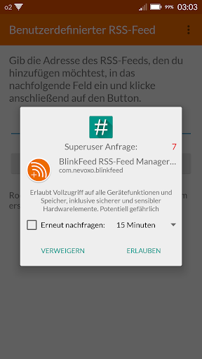 BlinkFeed RSS Manager [ROOT] 2