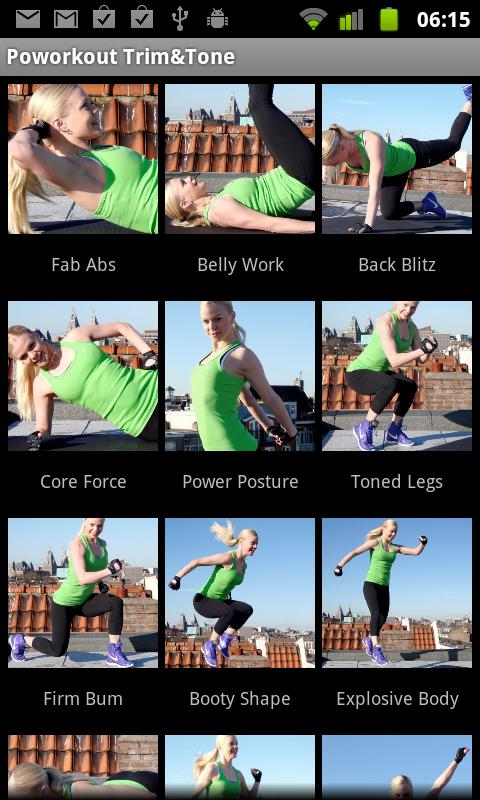 Workout Trim & Tone Fitness - screenshot