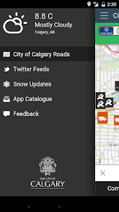 City of Calgary Roads- screenshot thumbnail