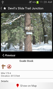 Guthook's Guide: PCT Sierra