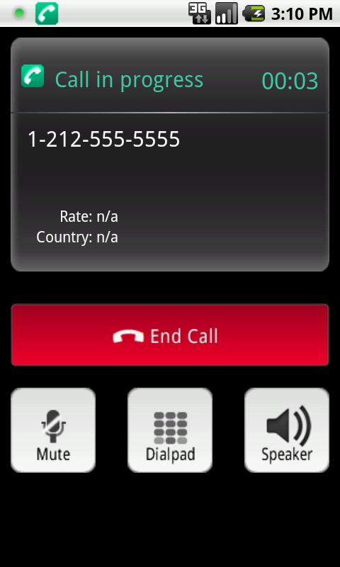 zonefonePro - VoIP Dialer - screenshot