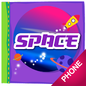 Space Coloring Book, phone