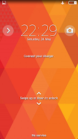 Screenshot of Theme - Triangles