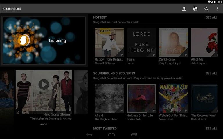 Screenshot 2 SoundHound Musik & Songtexte
