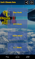 Screenshot of Climate Data