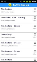 Screenshot of Canada Guide
