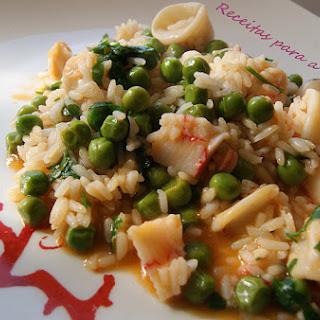 Squid Rice.