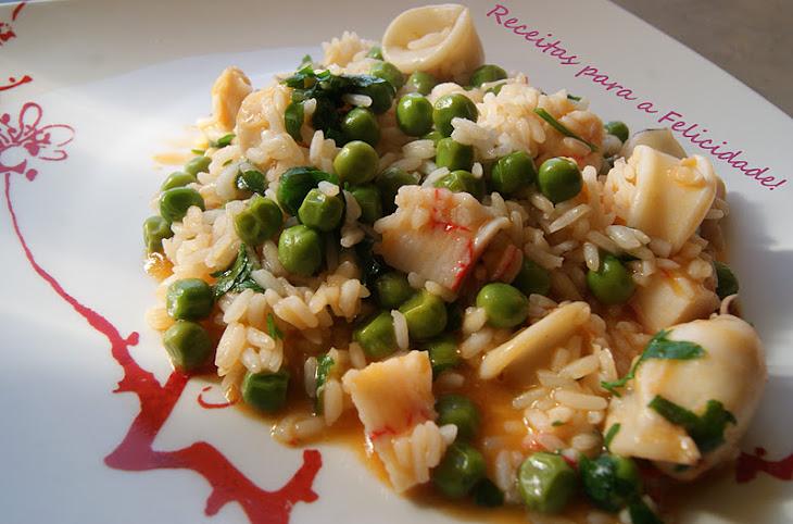 Squid Rice Recipe