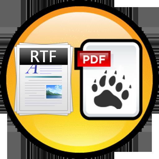 RTF to PDF Converter LOGO-APP點子