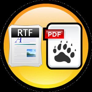 RTF to PDF Converter 商業 App LOGO-硬是要APP