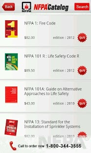NFPA Catalog- screenshot thumbnail