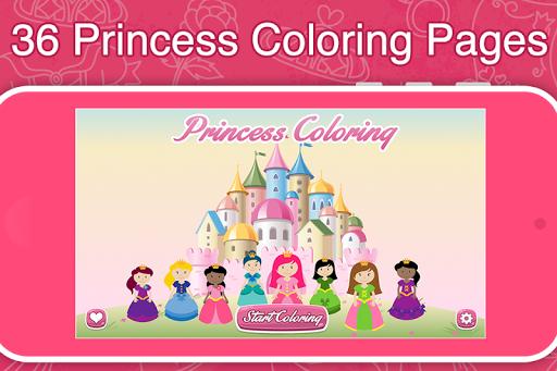 Princess Coloring Book Frozen