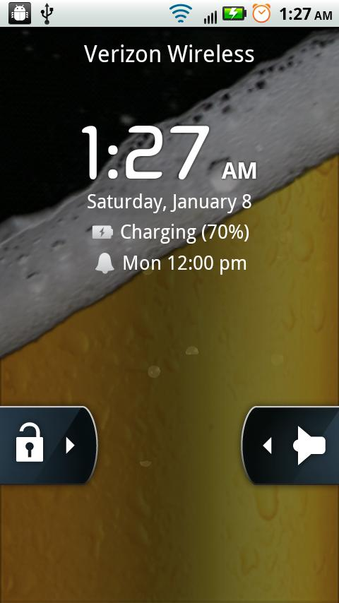 iBeer Live Wallpaper- screenshot