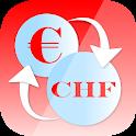 Euro Swiss franc Converter CHF icon