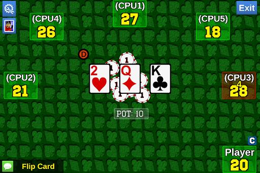 【免費紙牌App】In Between Cards-APP點子
