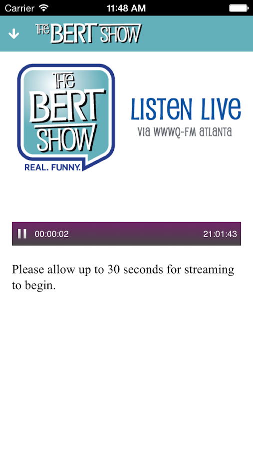 The Bert Show- screenshot