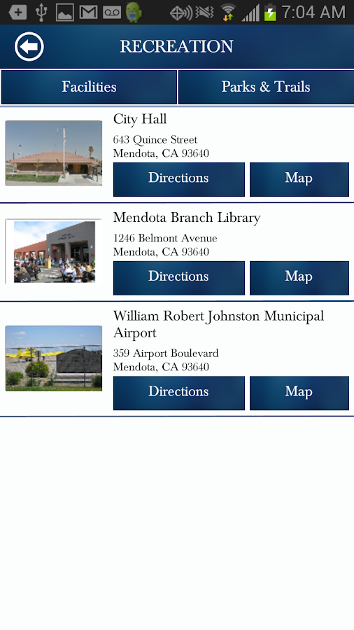 Mendota CA Official - screenshot