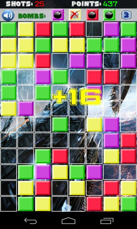 Connect 4 Bricks Game - screenshot