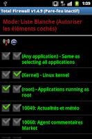Screenshot of TotalFireWall