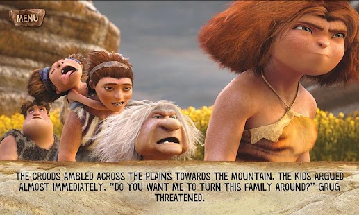 The Croods Movie Storybook- screenshot thumbnail