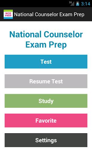 National Counselor Exam Prep