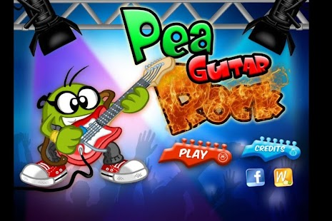 Pea Guitar Rock- screenshot thumbnail