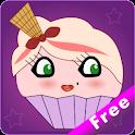 Cupcake Live Wallpaper Free logo