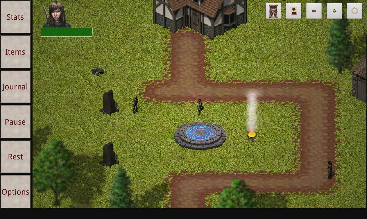 Erebus RPG- screenshot