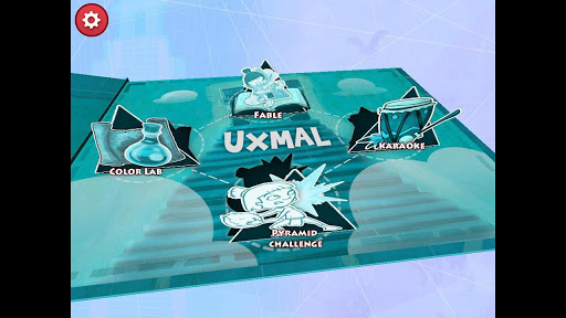Uxmal the pyramid - Premium