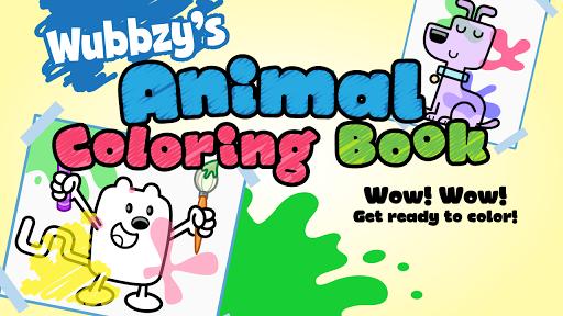 Wubbzy's Animal Coloring Book