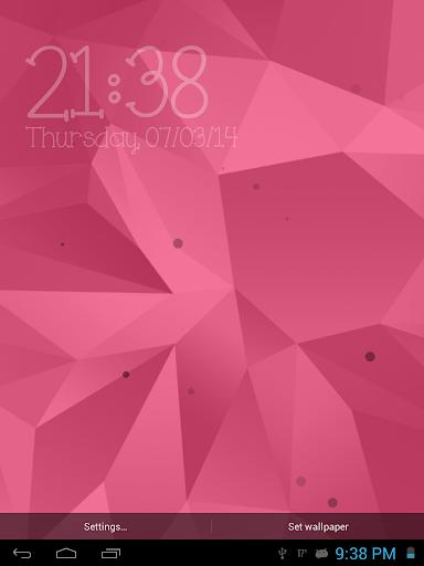 【免費個人化App】Galaxy S5數字時鐘-APP點子