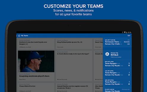 CBS Sports Screenshot 15
