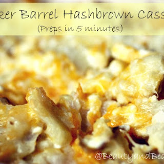 Cracker Barrel Hash Brown Casserole.