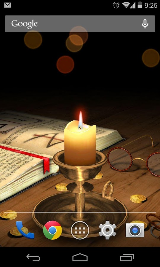 3D Melting Candle - screenshot