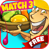 Match-3 - Mr. Fruit FREE