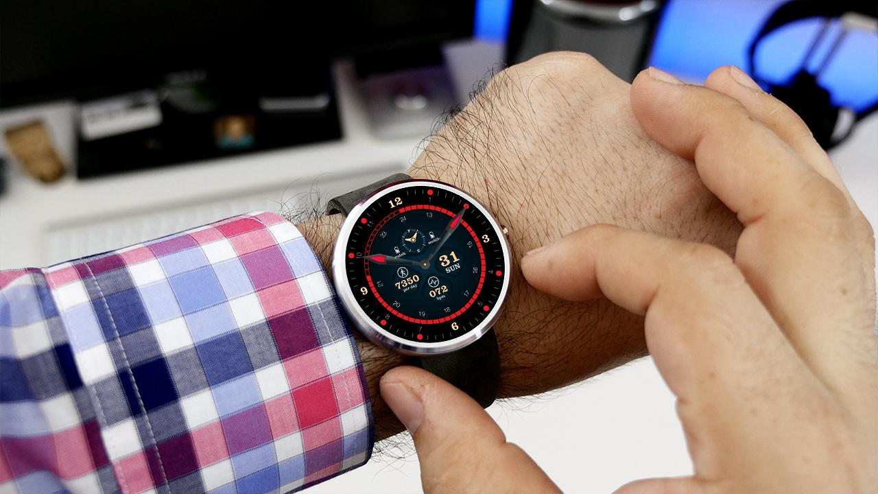 Faces for moto 360 - Smarter Watch Faces Screenshot