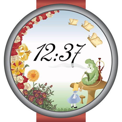 Alice In Wonderland Watch Face 1 2 (Android) - Download APK