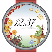 Alice In Wonderland Watch Face