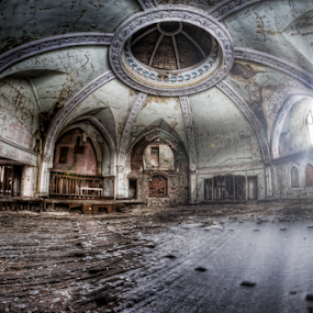 Blessed by Dawn Robinson - Buildings & Architecture Decaying & Abandoned ( history, urban exploration, beauty in decay, ue, architecture, abandoned church, abandoned,  )